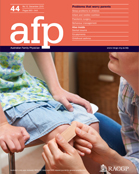 Australian Family Physician - December 2015 Issue - Focus: Problems that Worry Parents