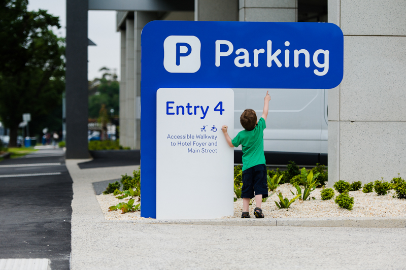 Entry 4 - Car Parking Entrance for 48 Flemington Road Parkville, Melbourne Paediatric Specialists
