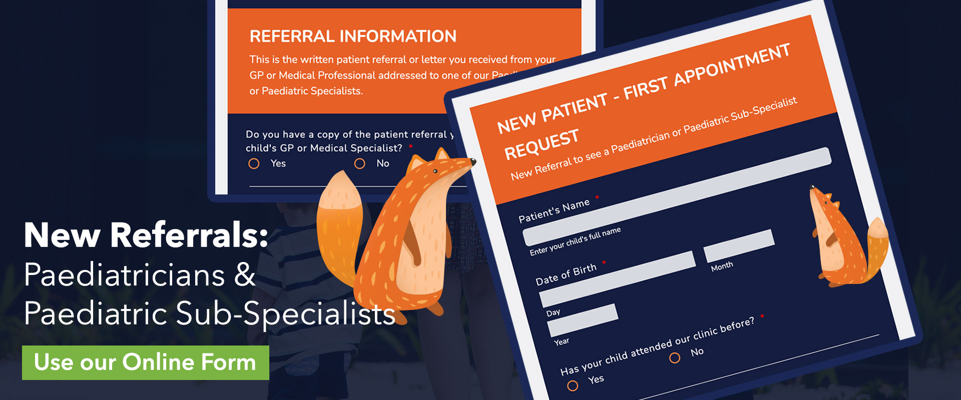 New Patients & New Referrals - Melbourne Paediatric Specialists